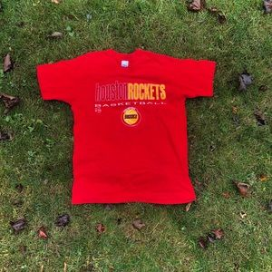 1990s Vintage Houston Rockets T Shirt